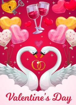 Walentynki kartkę z życzeniami świątecznymi z miłości serca