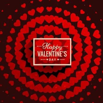 Walentynki miłość tło