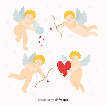 Walentynki nagie opakowanie cherubin