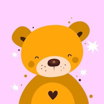Walentynki niedźwiedź