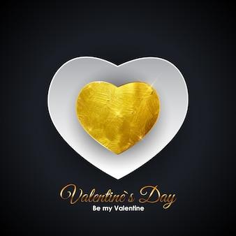 Walentynki on symbol. desig tło miłości i uczuć