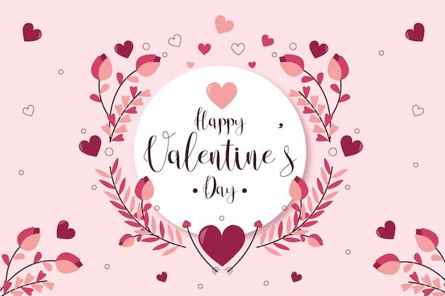 Walentynki pozdrowienie tła