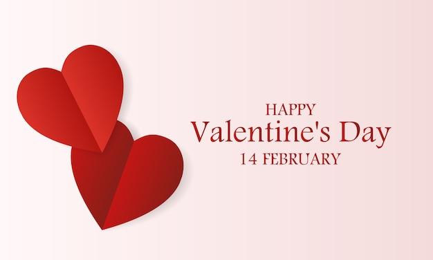 Walentynki promocyjny sztandar sprzedaży