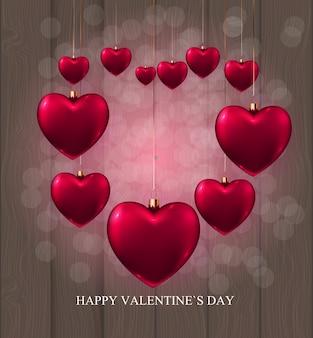Walentynki sprzedaż tło miłość i uczucia projekt. ¡