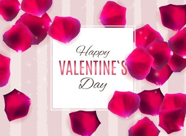 Walentynki tło projektu miłości i uczuć