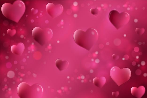 Walentynki tło w płaska konstrukcja