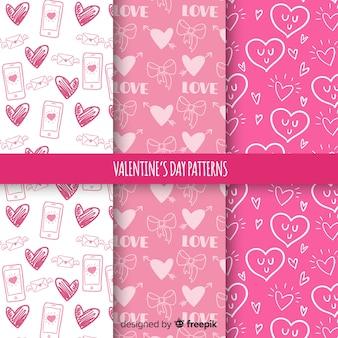 Walentynki wzór kolekcji