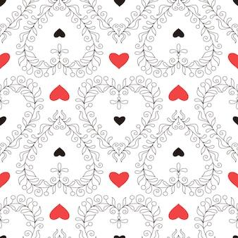 Walentynki wzór