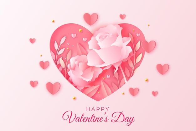 Walentynkowa wyprzedaż w stylu papierowym