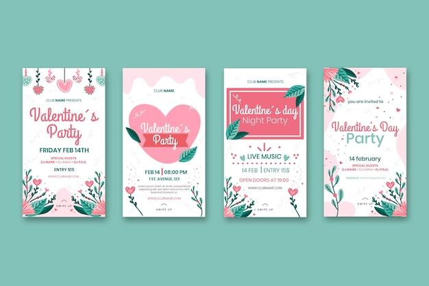 Walentynkowy pakiet opowiadań w mediach społecznościowych