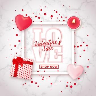 Walentynkowy projekt sprzedaży