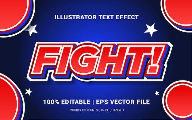 Walka! styl efektów tekstowych