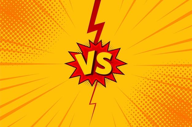 Walka z literami vs w płaskiej stylistyce komiksowej z półtonami