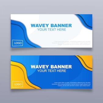 Wavey Banner