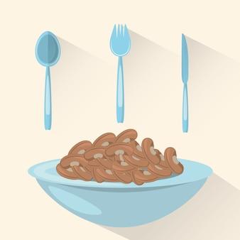 Węglowodany jedzenie zdrowe odżywianie obrazu