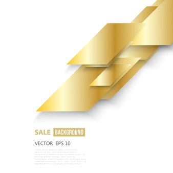 Wektor abstrakcyjna geometryczne złota tła.