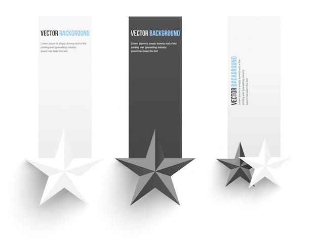 Wektor abstrakcyjna tła. banner infograficzny