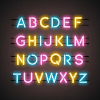 Wektor alfabetu angielskiego alfabetu