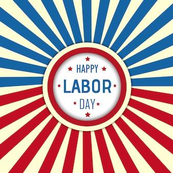 Wektor amerykański dzień tło pracy