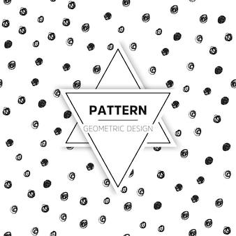 Wektor bez szwu deseń nowoczesne stylowe tekstury powtarzanie geometrycznych płytek z sześciokątnych elementów