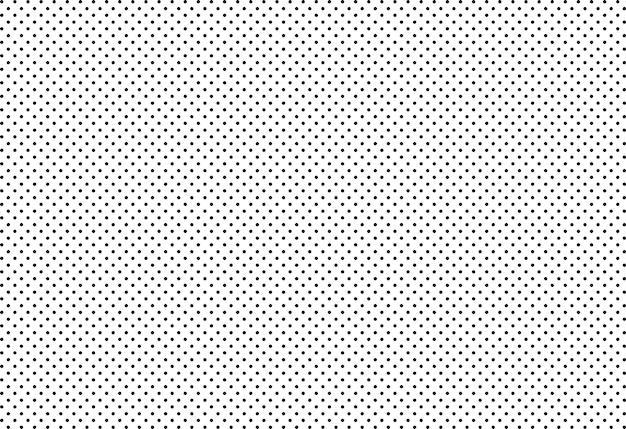 Wektor bezszwowe tło, czarna kropka na białym