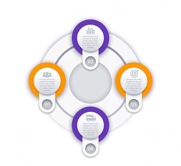 Wektor biznesu infografiki