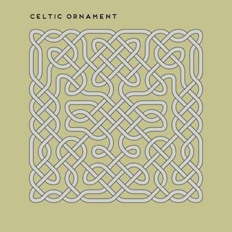 Wektor celtycki ornament