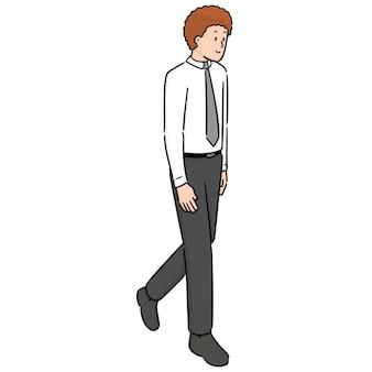 Wektor człowieka chodzenia