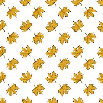 Wektor deseniu z jesieni leafes, kwiatów tle, autmn spaść.