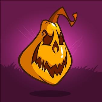 Wektor dyni halloween
