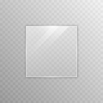 Wektor efekt przezroczystości szkła okno lustro odbicie blask png szkło png okno