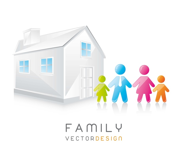 Wektor familijny