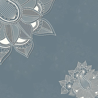 Wektor floral elementy projektu do dekoracji strony