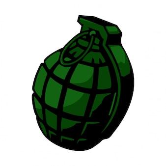 Wektor granatów