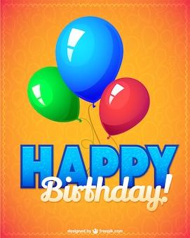Wektor ilustracja urodziny