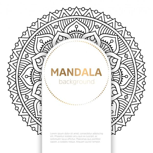 Wektor indyjski mandali