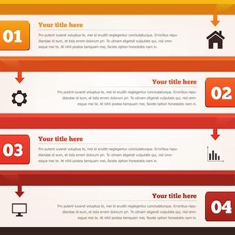 Wektor infograficzny