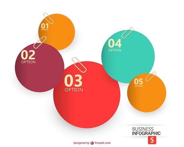 Wektor infografika biuro projektowe