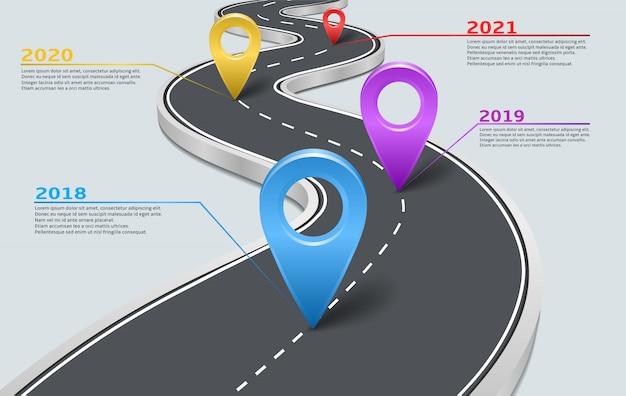 Wektor infographic linii drogowej samochód ze wskaźnikami
