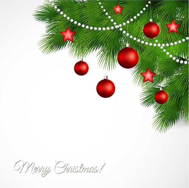 Wektor kartkę z życzeniami wesołych świąt