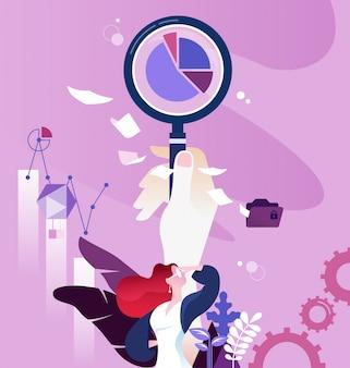 Wektor koncepcji badań marketingowych