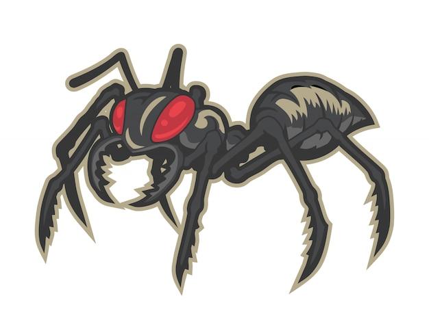 Wektor kreskówka mrówka
