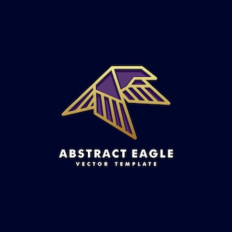 Wektor lineart eagle