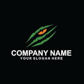 Wektor logo drapieżnika