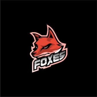 Wektor logo fox