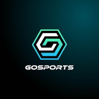 Wektor logo ilustracja e sport i styl sportowy
