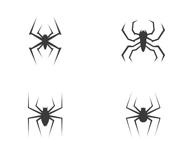 Wektor logo pająk