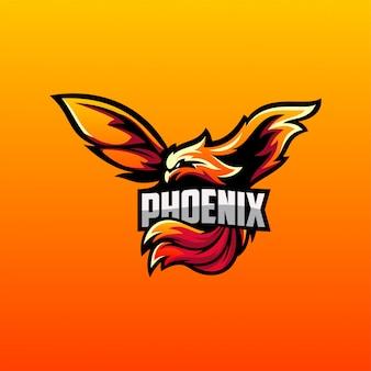 Wektor logo phoenix