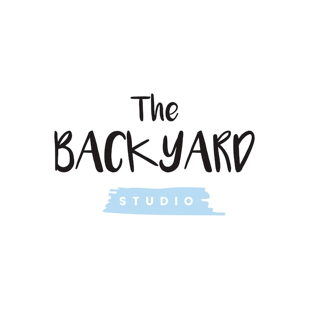 Wektor logo podwórku studio