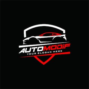 Wektor logo samochodu
